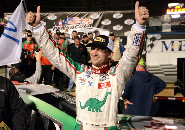 Self Grabs the Checkers in First ARCA Short Track Win Pensacola 200