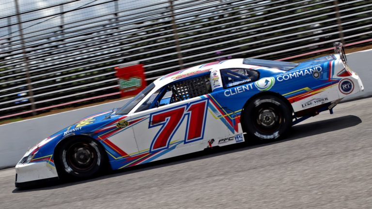 PixelatedRESULTS: Fletcher Paces Pro Late Models in Friday Practice for Baby Rattler