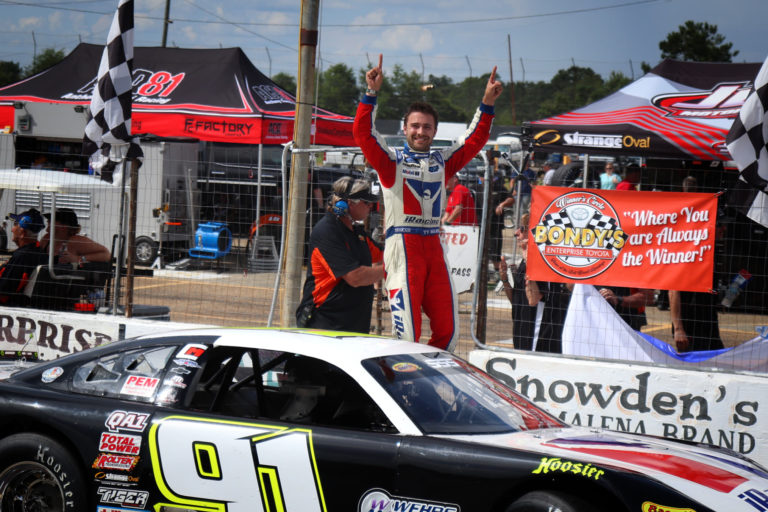 PixelatedRESULTS: Majeski Scores 3rd Rattler 250 Win in Hot Race at South Alabama